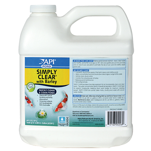API Pond Simply Clear 64 oz. (MPN 248 D)