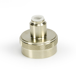 "Aquascape Fill Valve Spigot Connector 1/4"" Poly (MPN 07000)"