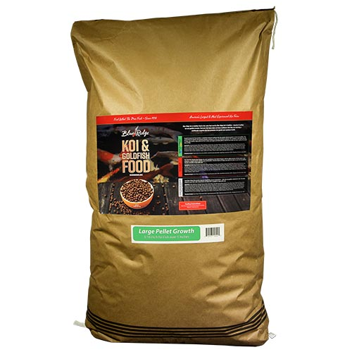 Blue Ridge Floating Large Pellet Growth Fish Food 50 lbs