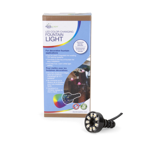 Aquascape LED Color Changing Fountain Light (MPN 84072)