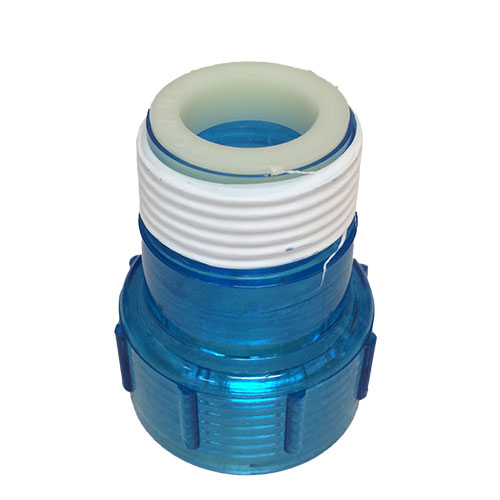 Aqua Ultraviolet Quartz Cap w/ Ring, Clear Blue  (MPN A40011)