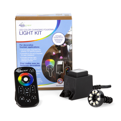 Aquascape LED Color-Changing Fountain Light Kit (MPN 84055)