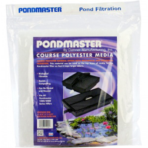 "12204 - PondMaster Coarse Replacement Filter Media 12"" x 12"" (MPN 12204)"
