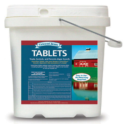GreenClean Tablets 16 lb Container (MPN 3011-16)