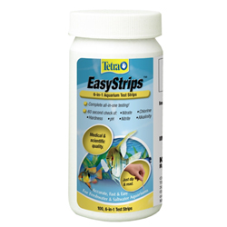 Tetra EasyStrips 6-in-1 Aquarium Test Strips - 100 ct (MPN 19543)
