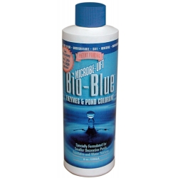 Microbe-Lift Bio-Blue Enzymes & Pond Colorant 8 oz (MPN MLBB8)