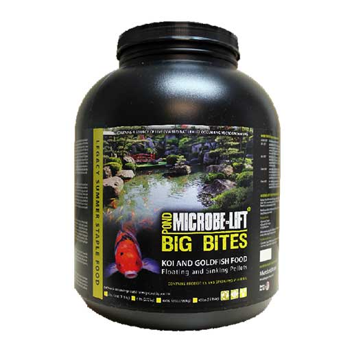 Microbe-Lift Big Bites Fish Food 6 lbs (MPN MLLBBLG)