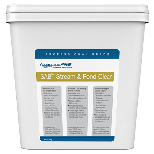 Aquascape Stream & Pond Clean SAB PRO 9 lbs (MPN 30409)