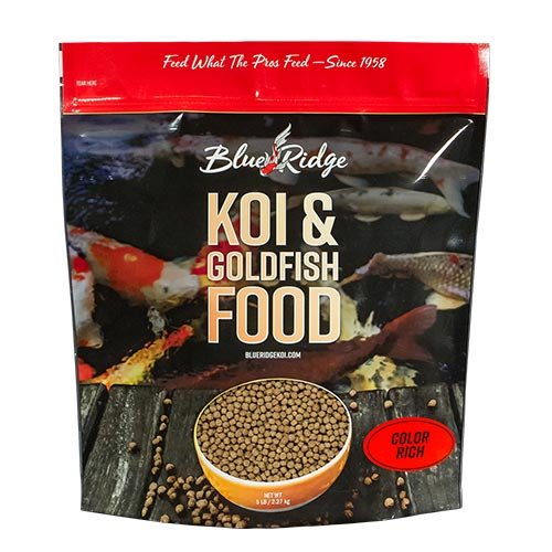 Blue Ridge Floating Color Rich Fish Food 5 lbs