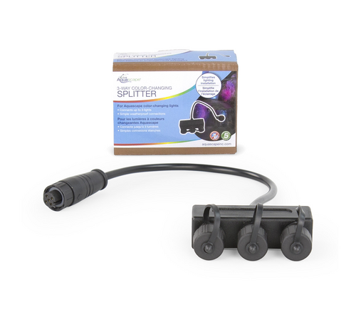 Aquascape 3-Way Color-Changing Splitter (MPN 84062)