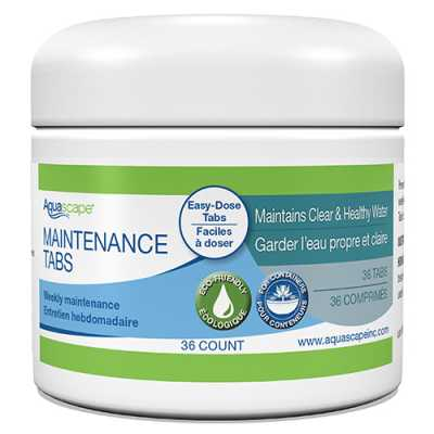 Aquascape Water Feature Maintenance Tablets 36 ct (MPN 40004)