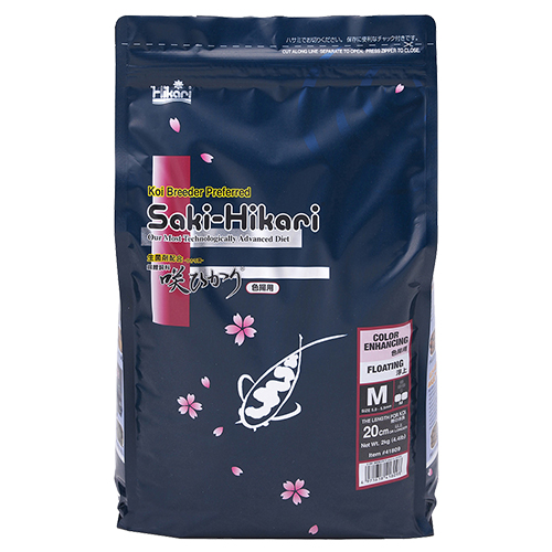 Saki Hikari Color Enhancing Diet 4.4 lb Bag, Medium Pellet (MPN 41809)