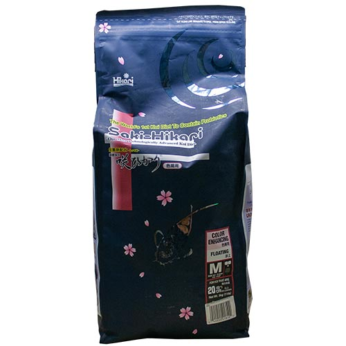 Saki Hikari Color Enhancing Diet 11 lb Bag, Medium Pellet (MPN 41810)