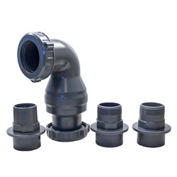 AquascapePro Dual Union Check Valve 2.0 (MPN 48026)