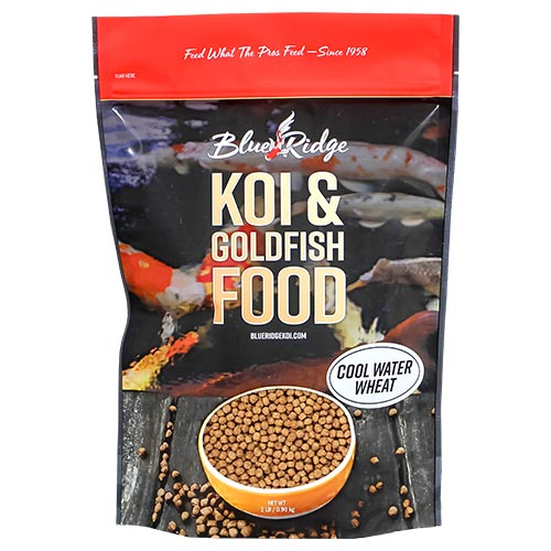 Blue Ridge Floating Cool Water Wheat Fish Food 2 lbs