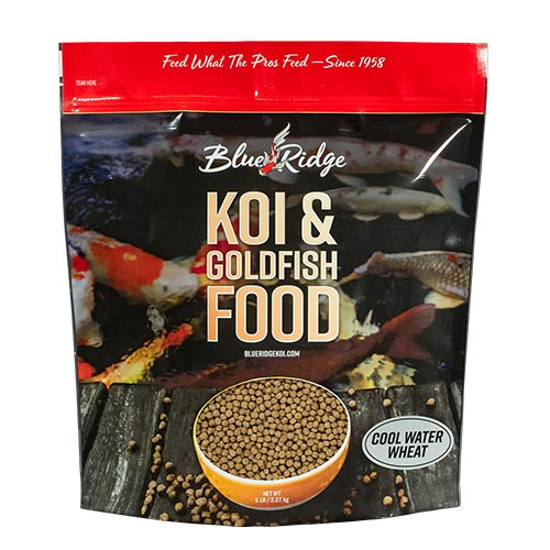 Blue Ridge Floating Cool Water Wheat Fish Food 5 lbs