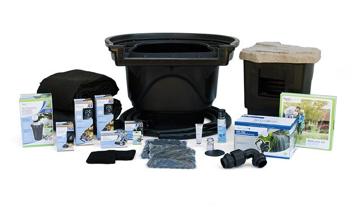 Aquascape Large Pond Kit 21' x 26' w/ SLD 5000-9000 Adjustable Flow Pump (MPN 53063)