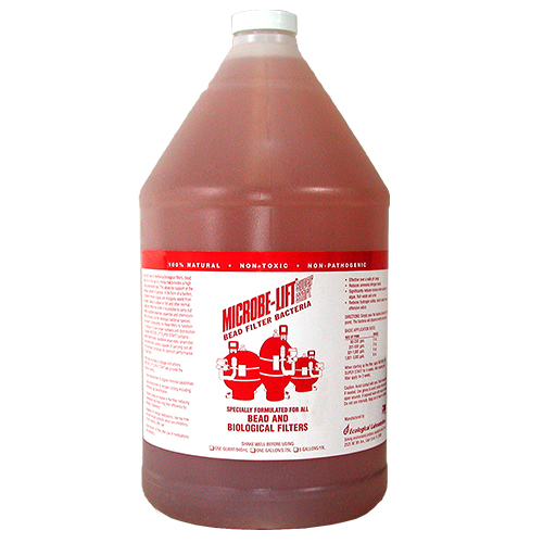 Microbe-Lift Super Start Bead Filter Bacteria 1 Gallon (MPN MLBFBG4)