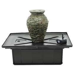 Aquascape Stacked Slate Urn - Mini Kit (MPN 58060)
