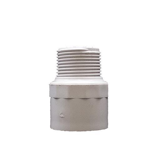 "PVC Male Adapter 1"" (mpt x slip) (MPN MA10)"