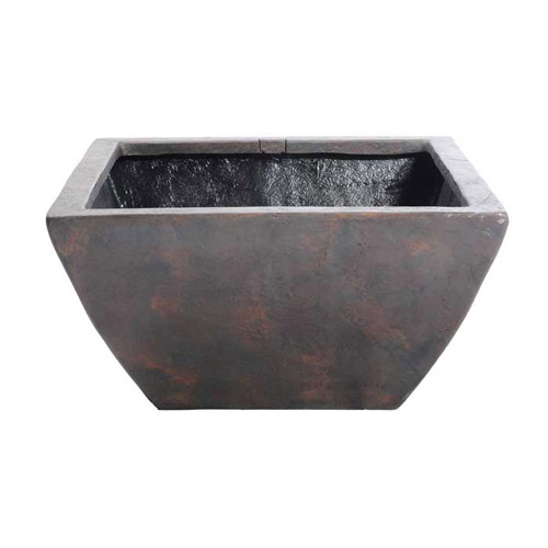 "Aquascape 33"" Large Square Textured Gray Slate Patio Pond (MPN 78051)"