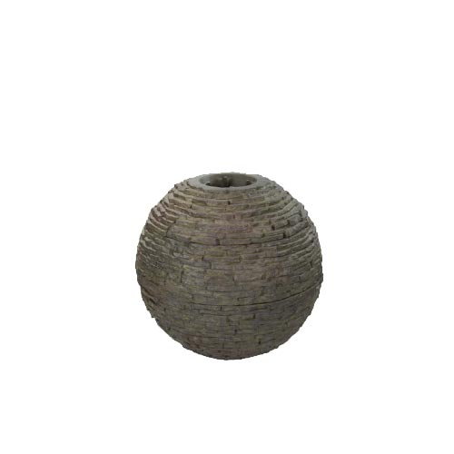 Aquascape Small Stacked Slate Sphere (MPN 78287)