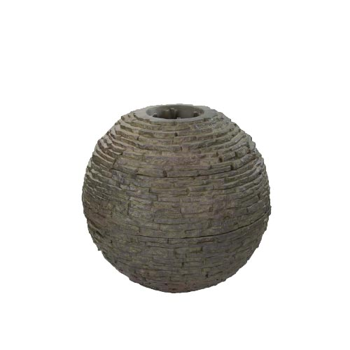 Aquascape Medium Stacked Slate Sphere (MPN 78288)