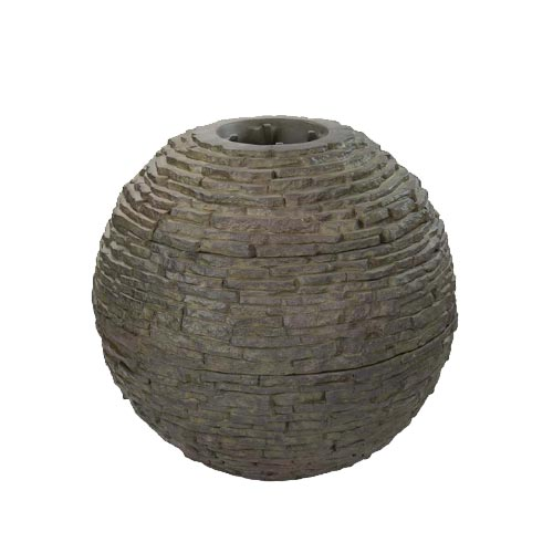 Aquascape Large Stacked Slate Sphere (MPN 78289)