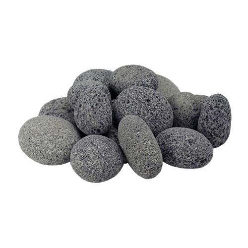Aquascape Mixed Tumbled Lava Stone - 50 lb (MPN 78318)