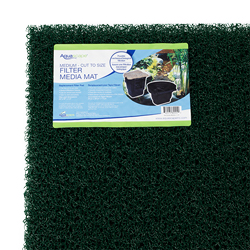 "Aquascape Medium Density Rigid Filter Mat 24"" x 39"" x 1.5"", Green In Color (MPN 80004)"