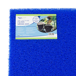 "Aquascape High Density Rigid Filter Mat 24"" x 39"" x 1.5"", Blue In Color (MPN 80005)"