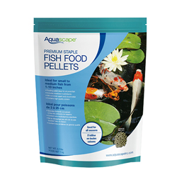 Aquascape Premium Staple Fish Food 2.2lbs - Mixed Pellet (MPN 81051)