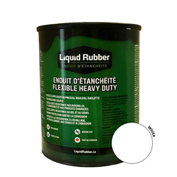 Liquid Rubber Waterproof Sealant White 32 oz.