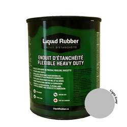 Liquid Rubber Waterproof Sealant Light Grey 32 oz.
