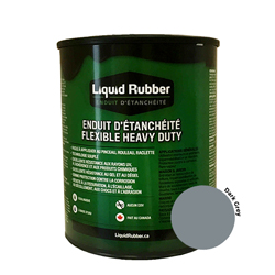 Liquid Rubber Waterproof Sealant Dark Grey 32 oz.