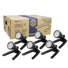 Aquascape 3-Watt LED Spotlight Contractor Pack (6) (MPN 84047)