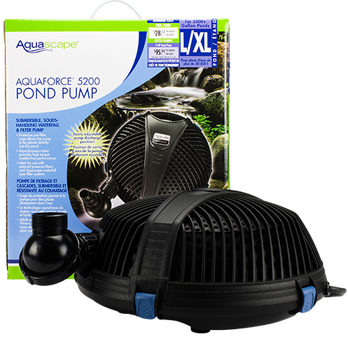 Aquascape AquaForce 5200 Pump (MPN 91013)