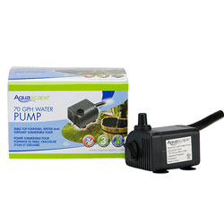 Aquascape DP40 Statuary & Fountain Pump 70 GPH (MPN 91023)