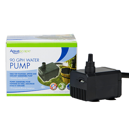 Aquascape statuary fountain pumps best prices on for Best water pump for pond