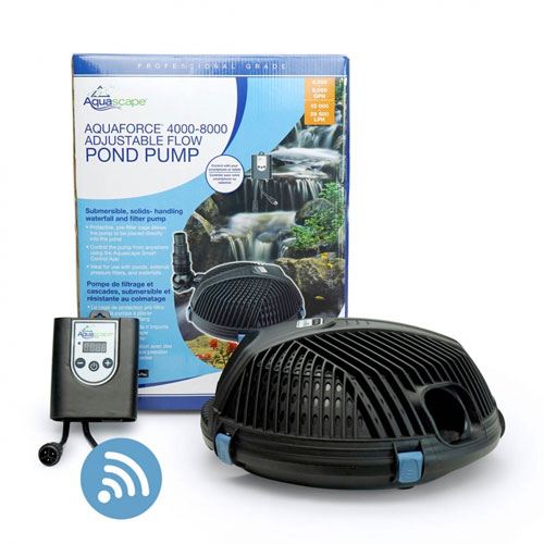 AquaForce® 4000-8000 Adjustable Flow Solids-Handling Pond Pump (MPN 91104)