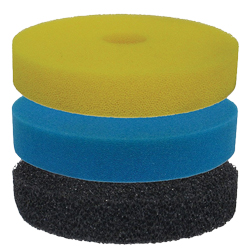 EasyPro ECF25F Replacement Filter Pads for ECF25, 25U, ECR40, 40U (MPN ECF25F)