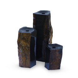 Aquascape 3 Semi-Polished Stone Basalt Columns (MPN 98264)