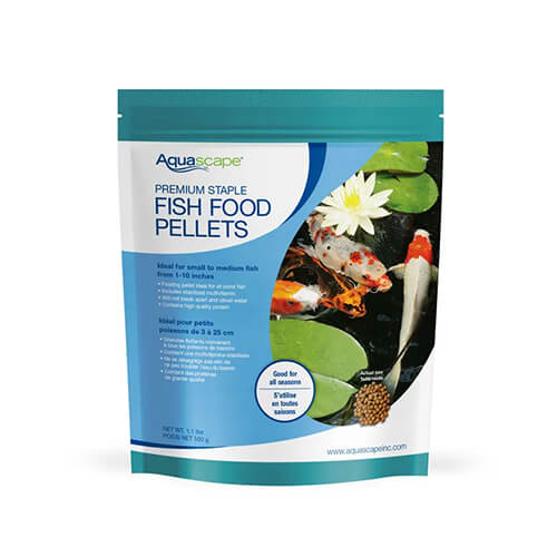 Aquascape Premium Staple Fish Food, Small Pellet 1.1 lb (MPN 98867)