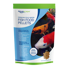Aquascape Premium Cold Water Fish Food, Large Pellet 4.4 lb (MPN 98872)