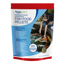 Aquascape Premium Color Enhancing Fish Food, Medium Pellet 2.2 lb (MPN 98874)