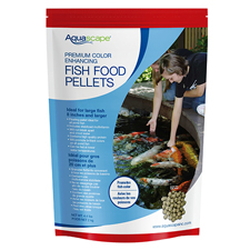 Aquascape Premium Color Enhancing Fish Food, Large Pellet 4.4 lb (MPN 98875)