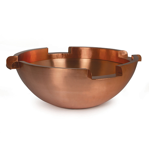 "Atlantic 26"" Copper Bowl w/ (4) 6"" Spillways (MPN CB26R6)"