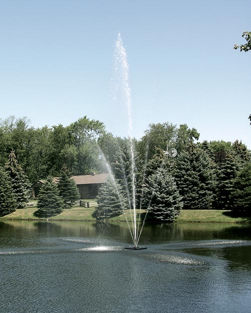 Scott Aerator Clover Fountain ½ hp, 230 V, 70' Cord (MPN 13001)