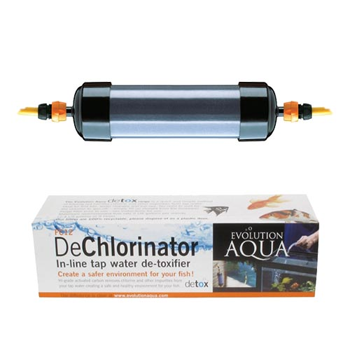 Evolution Aqua 12 inch Dechlorinator Carbon in line filter (MPN FC12)