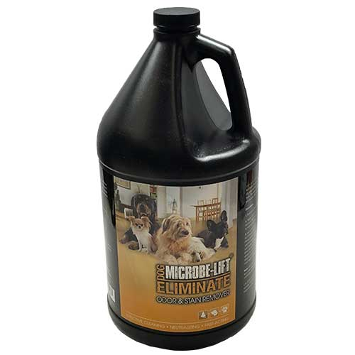 Microbe-Lift Eliminate Odor & Stain Remover - Dog (INDOORS) 1 gallon (MPN ELIMDOGG1)